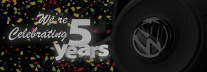 We're Celebrating 5 Years