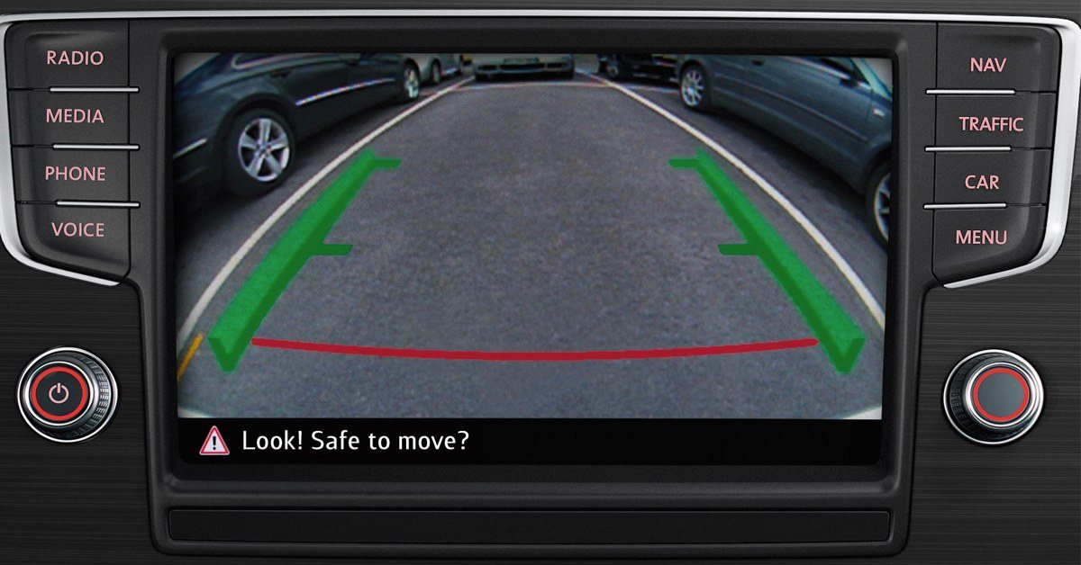 Tiguan, Rearview Camera