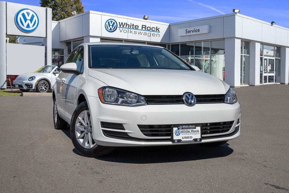 2017 Golf, Certified Pre-Owned