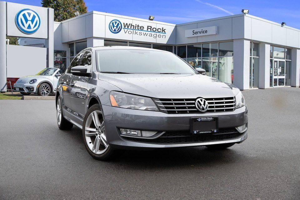 2015 Passat, Certified Pre-Owned