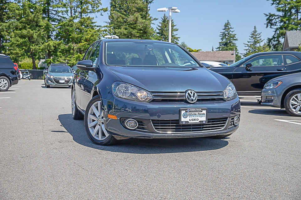 2012 Golf, Certified Pre-Owned