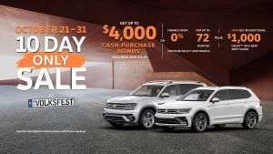 2019 VW Tiguan and Atlas Sale Vancouver