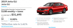 2019-VW-Jetta-GLI Vancouver Specials Offers